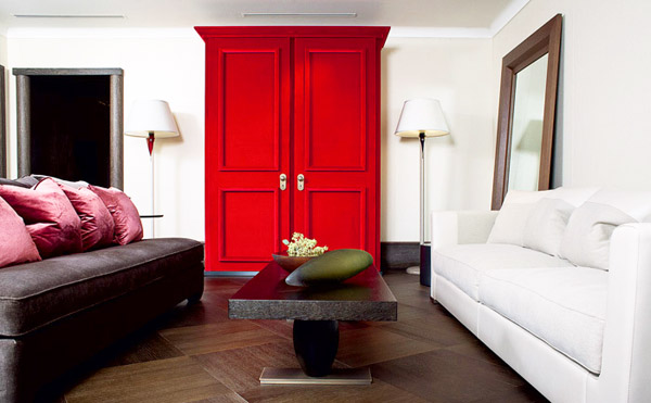 Bright Red Color Accents 15 Bold And Bautiful Home