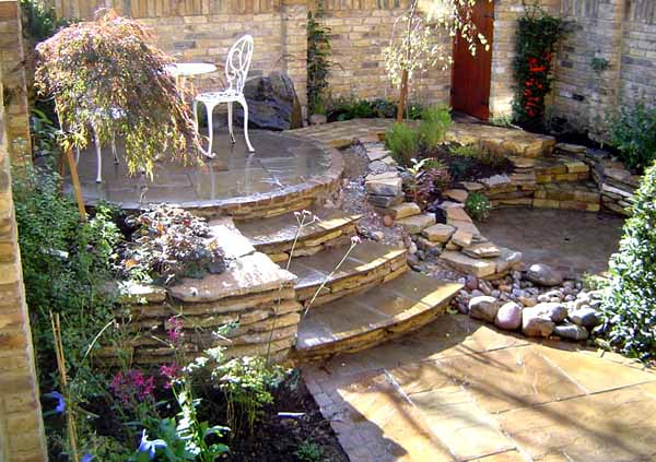 21 garden design ideas small ponds turning your backyard - Small backyard landscape designs ...