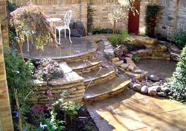21 garden design ideas small ponds turning your backyard - Small backyard landscaping ideas ...