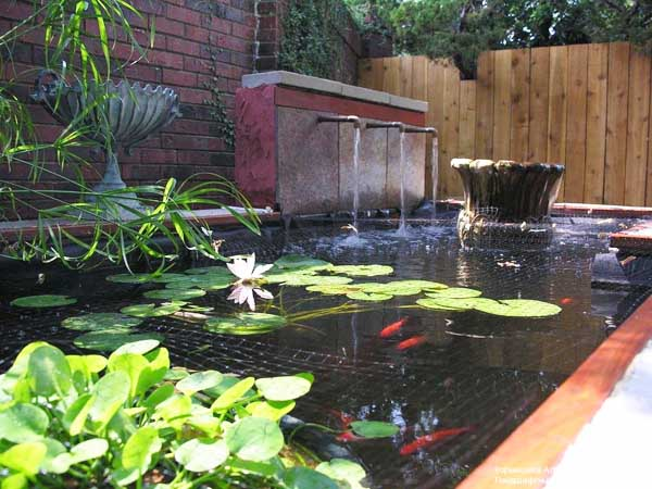 21 garden design ideas small ponds turning your backyard. Black Bedroom Furniture Sets. Home Design Ideas