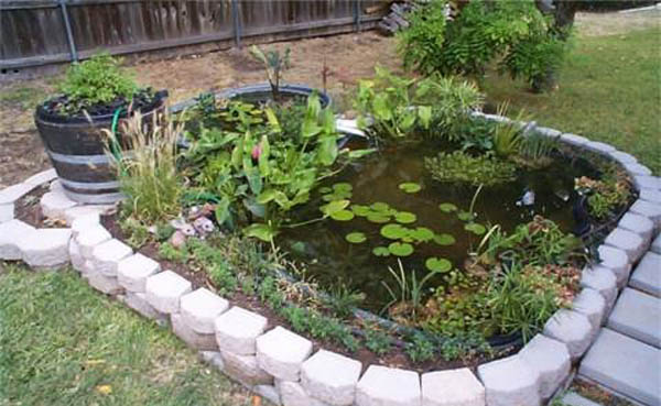 21 Garden Design Ideas, Small Ponds Turning Your Backyard ... on Small Backyard Pond Ideas id=42837