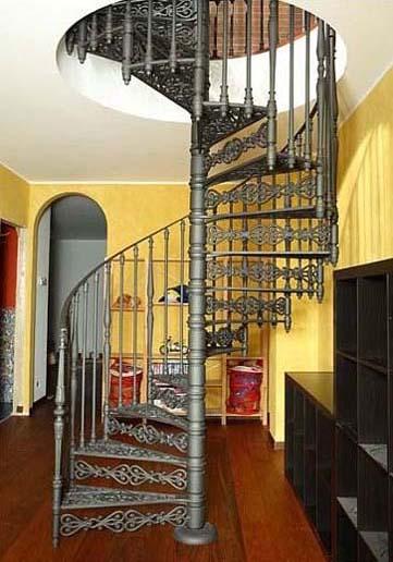 Modern Interior Design With Spiral Stairs Contemporary Spiral - Curvy-spiral-house-design