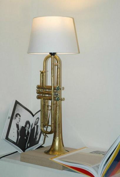 Recycling Used Brass Musical Instruments For Unique