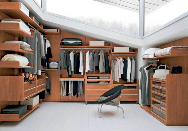 modern walk in closet design ideas stylish home organization rh lushome com small modern walk in closet design