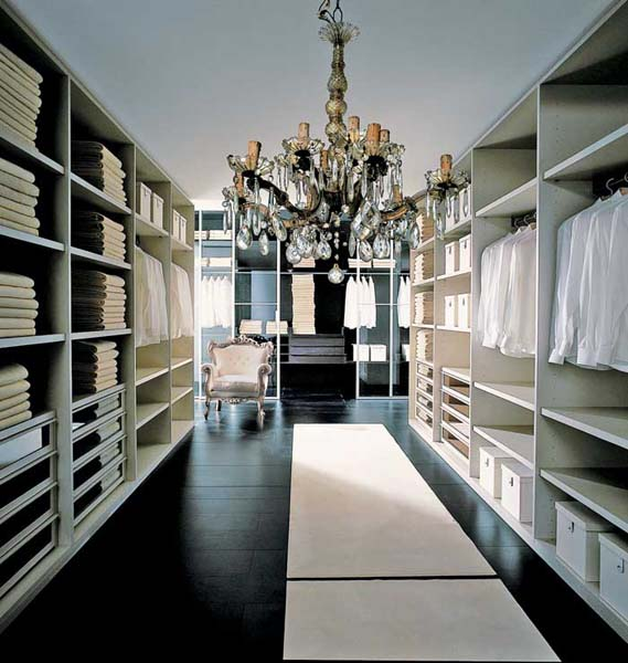 Merveilleux Another New Design Idea Is Removing Closet Doors And Creating Few Niches In  The Walls For Increasing The Closet Size. Adding A Room Divider And Shelves  ...