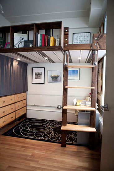 21 Loft Beds In Different Styles, Space Saving Ideas For