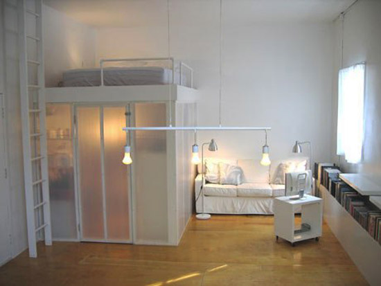 21 loft beds in different styles space saving ideas for - Small space room ideas ...