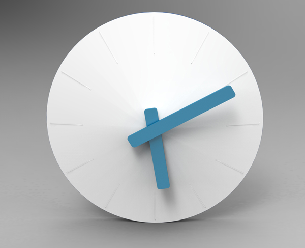 Modern Wall Clock Design with Color Sensor to Personalize ...