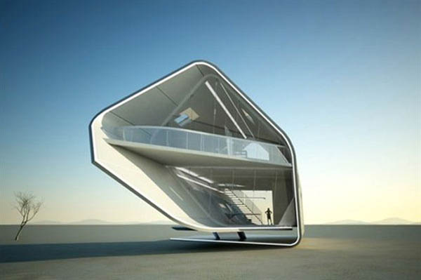 Desert House Design Idea Futuristic