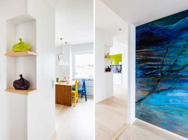 Bright Penthouse Apartment Redesign In Finland Shows