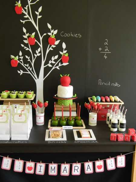 Study Room Decoration: 22 Creative Back To School Party Decorations And Table