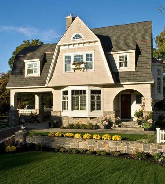 House Design With A Bay Window