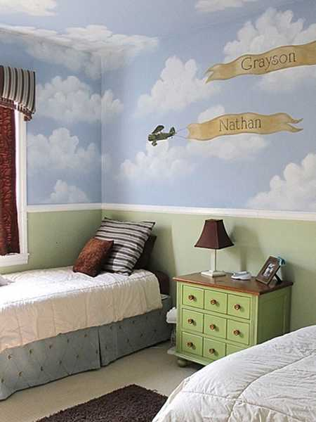 Kids Room Wallpaper Designs: 22 Modern Kids Room Decorating Ideas That Add Flair To