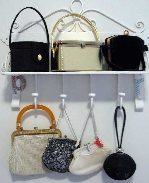 Closet Organizers And Storage Ideas For Bags And Purses