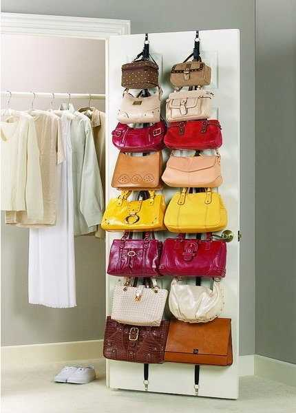 Attirant Closet Organizers And Storage Ideas For Bags And Purses