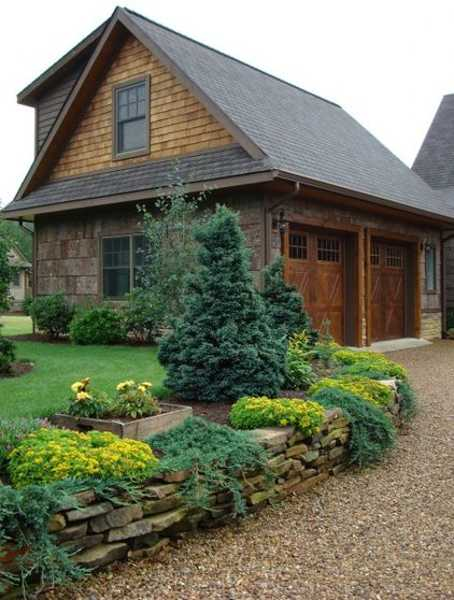 Charming Country Home Driveways, Natural Driveway ...