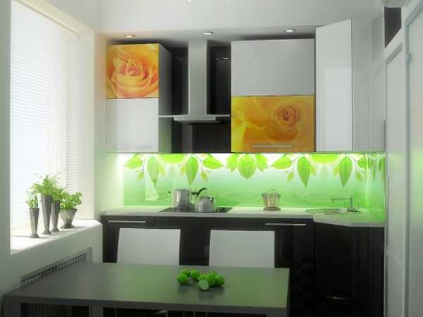 The Kitchen Interior With A Backsplash In Bright Colors Looks Exclusive And  Striking, And Needs To Be Well Organized And Neat, Because Even A Little  Mess On ...