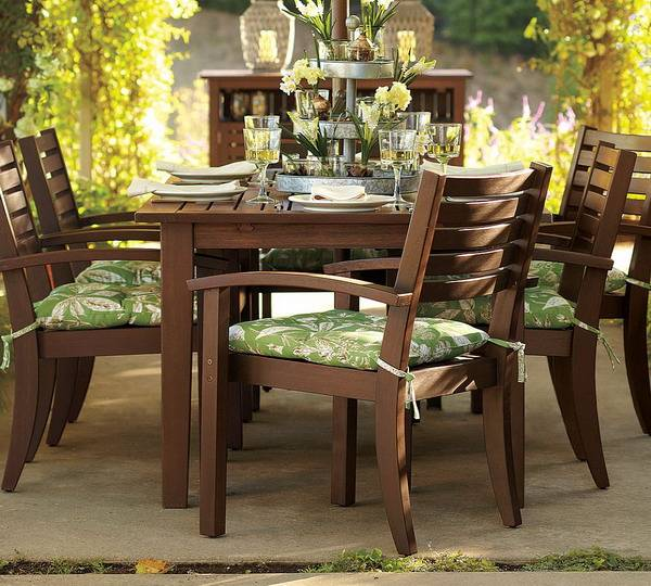 20 Beautiful Kitchen And Dining Furniture Design Ideas: Outdoor Furniture For Dining Area, 20 Beautiful Outdoor
