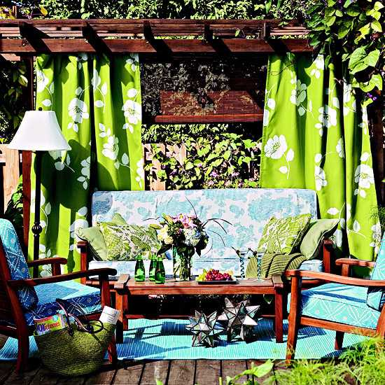 20 Summer House Design Ideas: 20 DIY Outdoor Curtains, Sunshades And Canopy Designs For