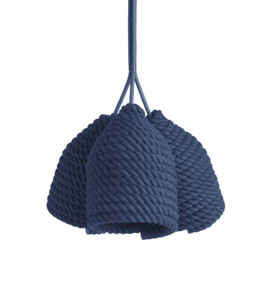 cotton rope hanging lamp