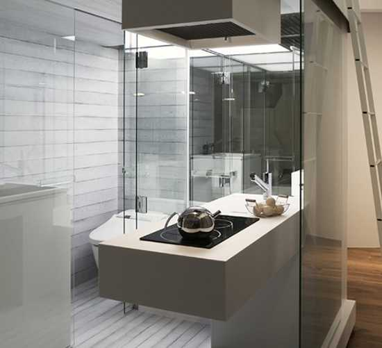 compact modern bathrooms