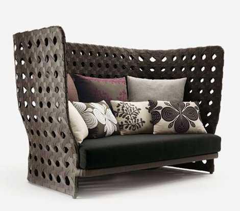 Versatile Wicker Furniture 25 Ideas For Indoor And Outdoor Home