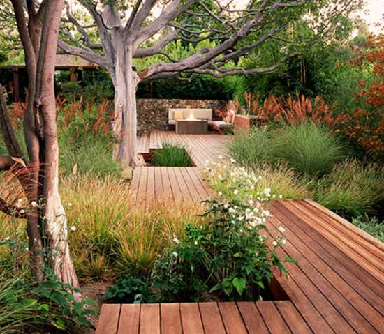 wood patio design