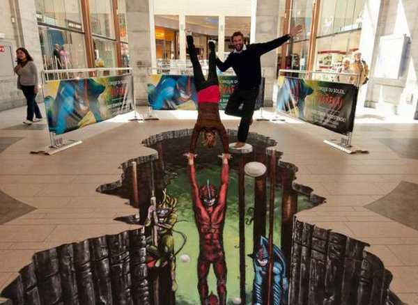 3d Art By Joe Hill Reinventing Modern Floor Painting And