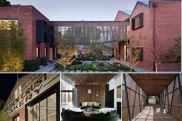 Former industrial spaces converted into stunning factory homes - Warehouse turned into home ...