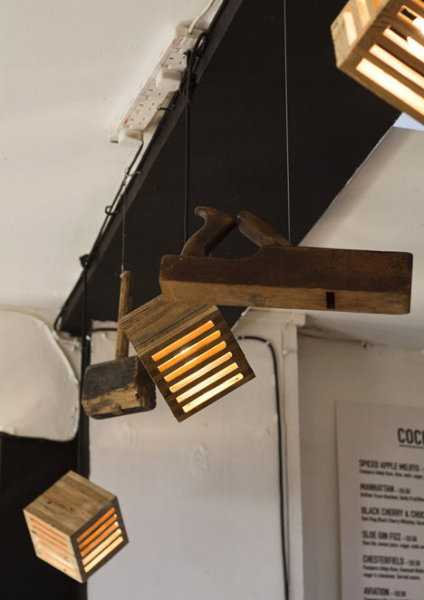 wooden lighting ideas