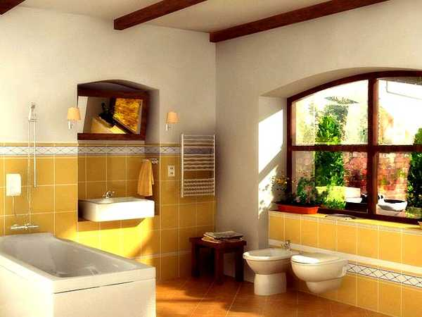 Awe Inspiring 25 Modern Bathroom Ideas Adding Sunny Yellow Accents To Download Free Architecture Designs Pushbritishbridgeorg