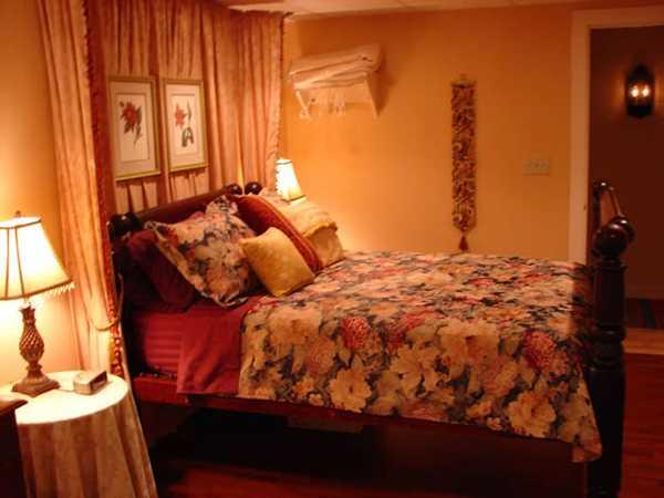 Autumn Decorating Ideas Bedroom: Adding Orange Colors To Bedroom Decorating Ideas In Fall
