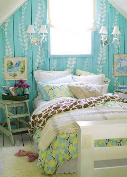 blue green bedroom decorating ideas