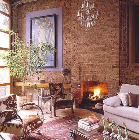 22 Modern Interior Design Ideas Blending Brick Walls With