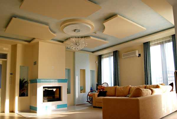 Modern Ceiling Designs With Hidden Led Lighting Fixtures