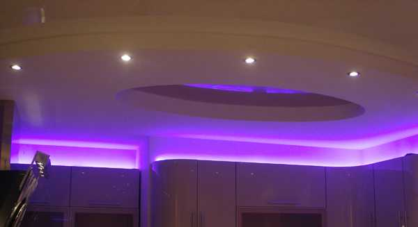 Gorgeous Kitchen Lighting Ideas Ceiling Design With Contemporary Hidden Led Fixtures