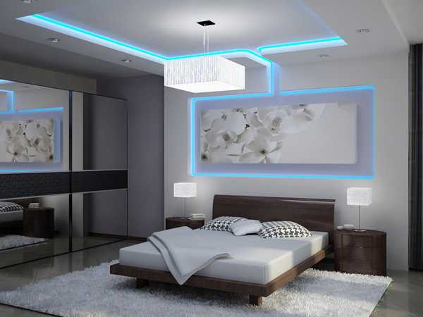 30 glowing ceiling designs with hidden led lighting fixtures contemporary bedroom lighting ideas ceiling design with hidden lighting fixture mozeypictures Image collections