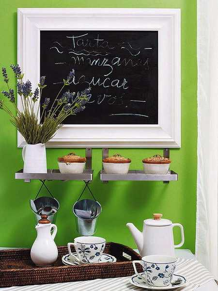 22 Creative Ideas For Home Decorating With Chalkboard Paint