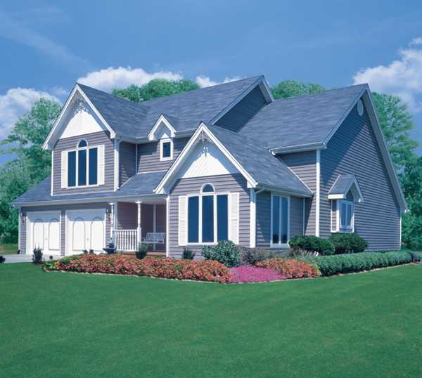 Colorful Vinyl Siding Improving Curb Appeal of Modern ... on Modern Vinyl Siding Ideas  id=19283