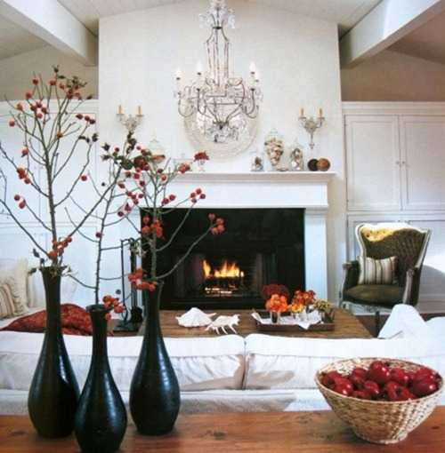 15 Bright Fall Decorating Ideas Warming Up Home Interiors With Orange Colors