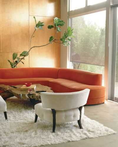 Bright Orange Living Room Accessories: 15 Bright Fall Decorating Ideas Warming Home Interiors