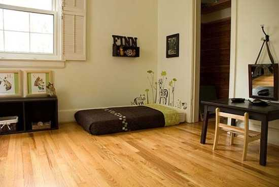 Genial ... Bedroom Decorating In Vintage Style. Just Select A Mattress High Enough  With A Good Support To Be Comfortable For Sleep On The Floor, And Be Aware  Of A ...