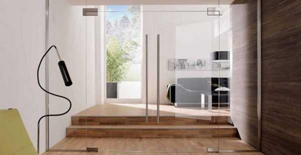 Fantastic Solid Glass Doors and Room Dividers Inviting Natural Light