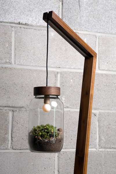 handmade lighting fixture and diy idea
