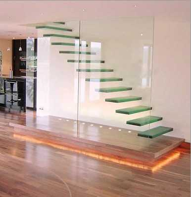 33 Glass Staircase Design Ideas Bringing Contemporary Flare Into
