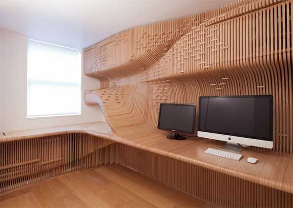 wood furniture for home office