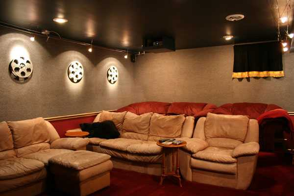 Home Theater Interior Decorating Ideas