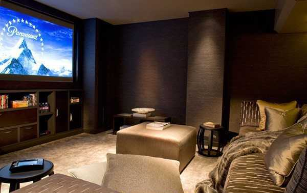 25 gorgeous interior decorating ideas for your home theater or media room Home theater interior design ideas