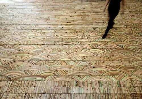Beautiful Floor Decoration Patterns On Laminate Tiles