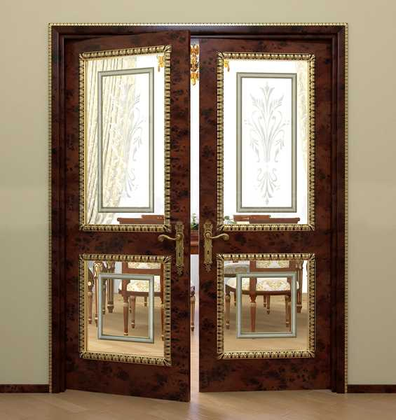 Beautiful Interior Doors, Glass And Wood Door Design